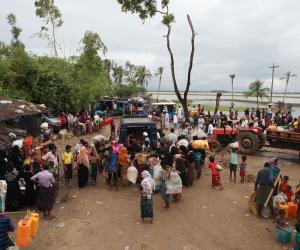 الأمم المتحدة: 480 ألفا من الروهينجا لجأوا لبنجلادش خلال شهر