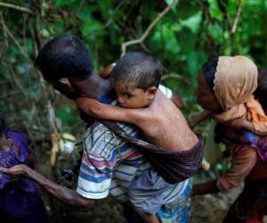 ضبط 7 أشخاص بينهم كاهن بوذي بتهمة الإعتداء على مركز للروهينجا في سريلانكا