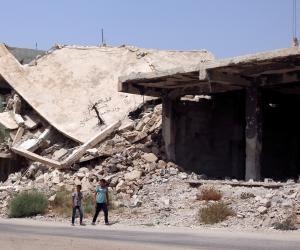 غارة تقتل 4 مدنيين في دمشق