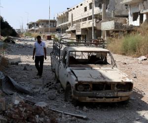 قوات سوريا الديموقراطية تعلن السيطرة على مدينة الرقة بالكامل