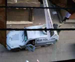 إغلاق الطرق المؤدية إلى أرض اللواء عقب اشتباكات قوات الأمن والإرهابين