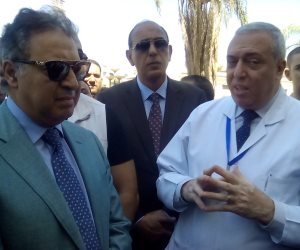 وزير الصحة: لم أفتتح مستشفى أبو المنجا المركزي لأنها غير جاهزة (صور)