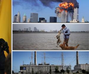 في الذكرى الـ16 لتفجير برجي التجارة.. الأعاصير تدمر تكساس وفلوريدا
