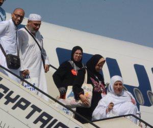 خلال 24 ساعة.. أكثر من 3 آلاف حاج يعودون من السعودية على متن 18 طائرة مصرية