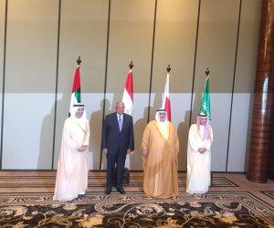 لقاءات بين الرباعي العربي في نيويورك لمواجهة أزمات الشرق الأوسط.. وسياسي سعودي يشيد بدور مصر