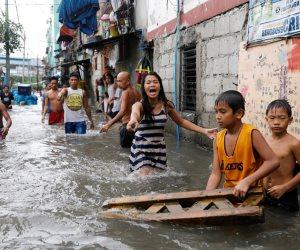 فيضانات عارمة تضرب الفلبين (صور)