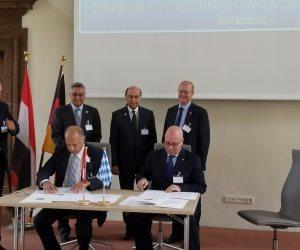 مهاب مميش: توقيع اتفاقيات مع البافارية الألمانية لإنشاء 5 مصانع ببورسعيد