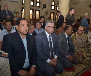 محافظ ومدير أمن الغربية يشيعون جنازة شهيد العريش بمسقط رأسه (صور)