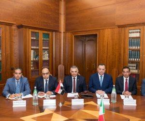 بروتوكول تعاون بين الداخليتين المصرية والإيطالية في مجال مكافحة الإرهاب (صور)
