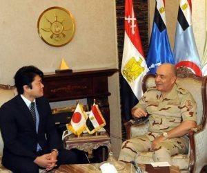 الفريق محمود حجازي يلتقي وزير الدولة للدفاع الياباني (صور)