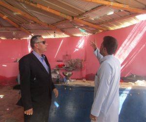رئيس مدينة أبورديس يسلم أول كافتريا بالجهود الذاتية في سيناء (صور)