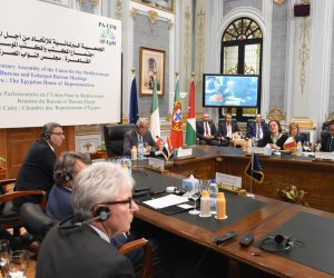 عبد العال يترأس أول اجتماع لمكتب الاتحاد من أجل المتوسط (صور)