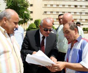 رئيس جامعة طنطا يوجه بإنهاء أعمال الصيانة استعداداً لتسكين الطلاب (صور)