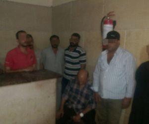 ضبط منقبي آثار حفروا نفقا أسفل مسجد أحمد بن طولون (صور)