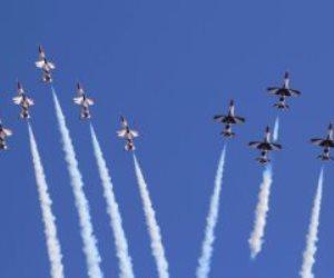 «فريق النجوم الفضية المصرى» يشارك فى معرض أثينا الدولى للطيران باليونان