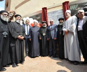 افتتاح مدرسة سان جورج بحضور محافظ بورسعيد وقيادات الكنيسة والأوقاف (صور)