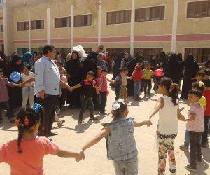 2097 مدرسة أنهت استعداها لاستقبال 703 ألف طالب وطالبة بكفر الشيخ (صور)