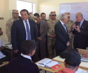 محافظ جنوب سيناء: مسابقة الـ500 معلم أسهمت في سد عجز المدرسين