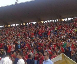 جماهير الأهلي تحتشد فى ملعب التتش قبل موقعة رادس (صور وفيديو)