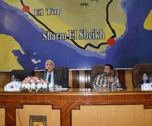 تنفيذي جنوب سيناء يستعرض الاستعدادات للعام الدراسي الجديد والسيول (صور)
