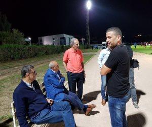 محمود طاهر يحضر مران الأهلي استعدادًا لمواجهة الترجي
