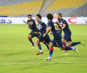 إصابة أحمد مجدي في مباراة الزمالك والطلائع الودية