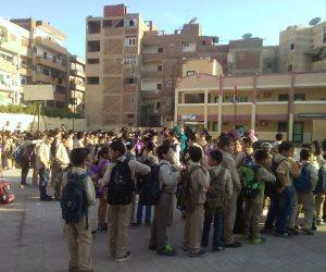 الأبنية التعليمية: الأمور تسير بشكل جيد في أول يوم دراسي بـ11 محافظة