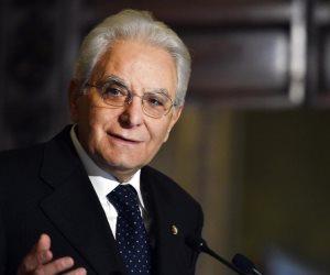 رئيس إيطاليا للسيسى: لن نتوانى عن مساندة الشعب الصديق