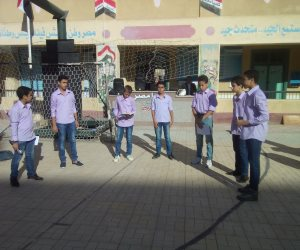 انتظام الدراسة بمحافظة كفر الشيخ ولجان تجوب المدارس (فيديو وصور)
