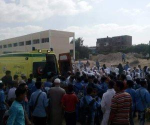 الصحة: وفاة مواطنا وإصابة 21 في انقلاب سيارة بالأسماعيلية