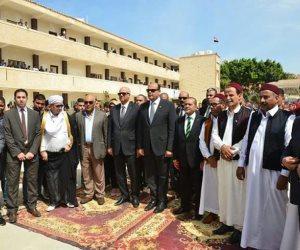 محافظ مطروح ورئيس جامعة الإسكندرية يفتتحان أول كلية لعلوم البترول و التعدين في المحافظة