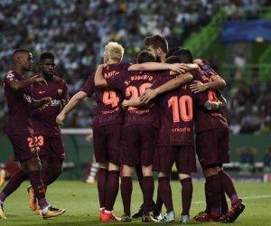برشلونة يفوز على لشبونة بهدف نظيف في عقر داره بدوري أبطال أوروبا (فيديو)