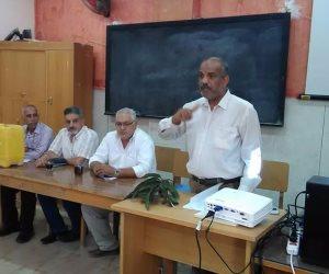 لجنة من زراعة الإسماعيلية تتفقد مزارع المانجو بقرية طوسون