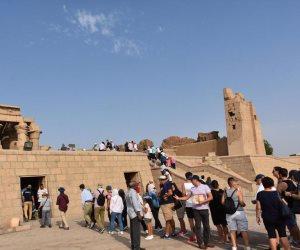 2480 سائحا من جنسيات مختلفة يغادرون ميناء شرم الشيخ