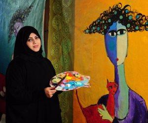 """شاهد.. """"اللوحة الفنية"""" التي جعلت ابنة ترامب تهنئ السعوديات بقيادة السيارة"""
