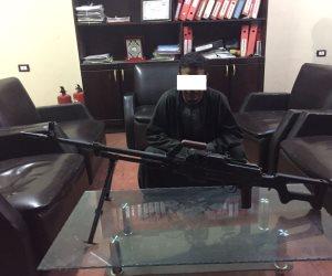 ضبط 16 قطعة سلاح أبيض وتنفيذ 506 حكما قضائيا في أسوان