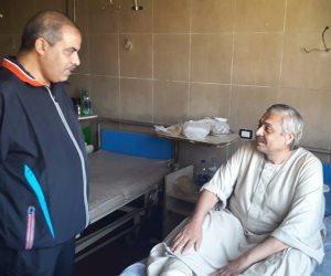 رئيس جامعة الأزهر يجري زيارة مفاجئة إلى مستشفيات الجامعة بـ «التريننج» (صور)