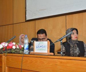 ندوة عن أهمية الكشف المبكر عن سرطان الثدي والرحم بجامعة أسيوط (صور)