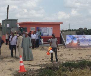 نائب وزير الزراعة يتفقد أعمال تنفيذ مشروع الري الحقلي بالبحيرة (صور)