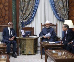 رئيس البرلمان الصومالي للطيب: أنت رمز لكل الأمة الإسلامية