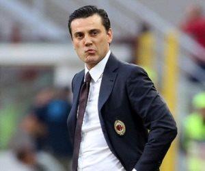 """نادي ميلان الايطالي يعلن إقالة مديره الفني """"مونتيلا"""""""