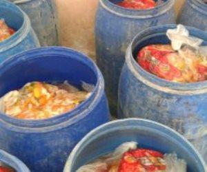 ضبط 75 طن مخللات قبل توزيعها على الأسواق بالبحيرة