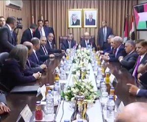 حكومة الوفاق الفلسطينية تعقد اجتماعا بحضور رئيس المخابرات المصرية (بث مباشر)