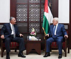 أبو مازن يلتقي رئيس المخابرات المصرية قبل التوجه إلى غزة (فيديو وصور)