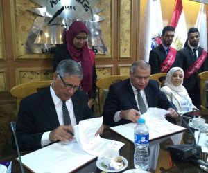تربية عين شمس توقع بروتوكول تعاون مع مصر للسياحة