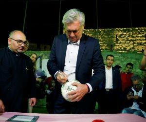 أنشيلوتى على رادار المنتخب السعودي قبل مونديال روسيا