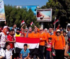 """""""التعليم"""" تشارك في احتفالات نصر أكتوبر بـ 300 طالب وطالبة (صور)"""