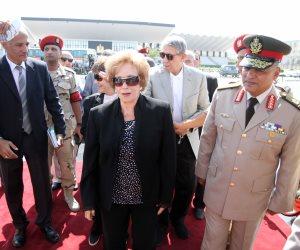 جيهان السادات: السيسي يقود معركة الآن لا تقل خطورة عن حرب أكتوبر
