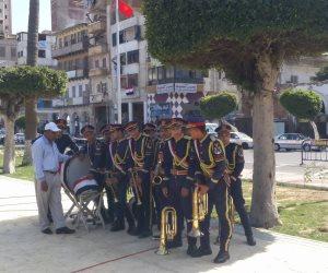 تجمع العشرات من الأهالي في حديقة سعد زغلول ببورسعيد قبيل افتتاحها