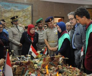 """القوات المسلحة تنظم المعرض السنوي العاشر """"ذاكرة أكتوبر"""" بالبانوراما"""